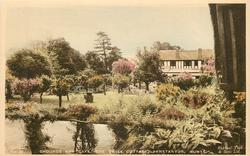GROUNDS AND CAFE, THE SWISS COTTAGE