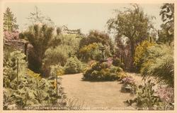 PART OF THE GROUNDS, THE SWISS COTTAGE