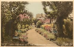 PATH LEADING TO CAFE, THE SWISS COTTAGE