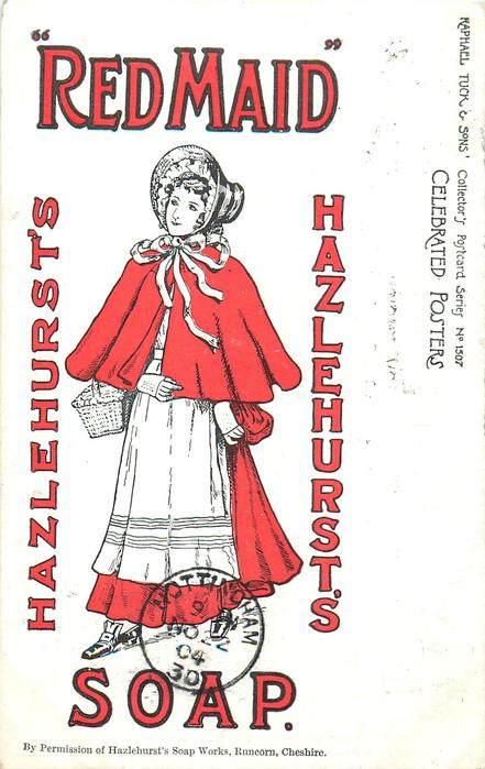 "HAZLEHURST'S ""RED MAID"" SOAP"