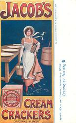 JACOB'S CREAM CRACKERS, ORIGINAL & BEST  milkmaid