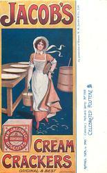JACOB'S CREAM CRACKERS, ORIGINAL & BEST  milkmaid