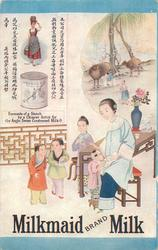 MILKMAID BRAND MILK  scenes in china