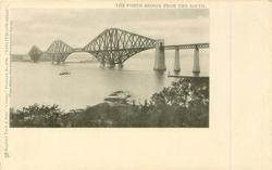 LINLITHGOWSHIRE  FORTH BRIDGE FROM THE SOUTH
