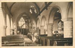 INTERIOR OF BOOKHAM CHURCH