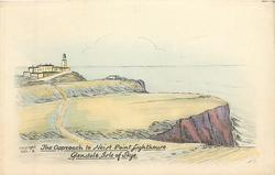 THE APPROACH TO NEIST POINT LIGHTHOUSE