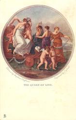 THE QUEEN OF LOVE