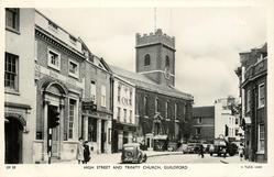 HIGH STREET AND TRINITY CHURCH
