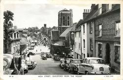 HIGH STREET, GUILDFORD FROM THE MOUNT