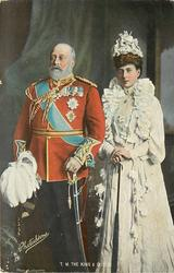 T.M. THE KING AND QUEEN