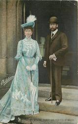 T.R.H. THE PRINCE AND PRINCESS OF WALES