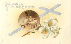 TO WISH YOU A HAPPY EASTER  lily