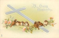 A HAPPY EASTERTIDE  seven sparrows