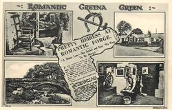 ROMANTIC GRETNA GREEN/ 5 insets & newspaper quote