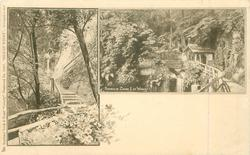 2 insets of SHANKLIN CHINE, I.OF WIGHT