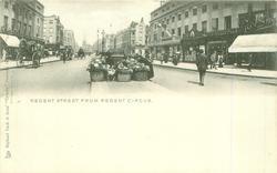 REGENT STREET FROM REGENT CIRCUS