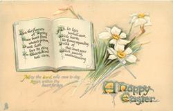A HAPPY EASTER  narcissi