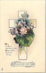 EASTER JOY  violets