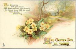 ALL EASTER JOY BE YOURS