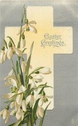 EASTER GREETINGS  snowdrops