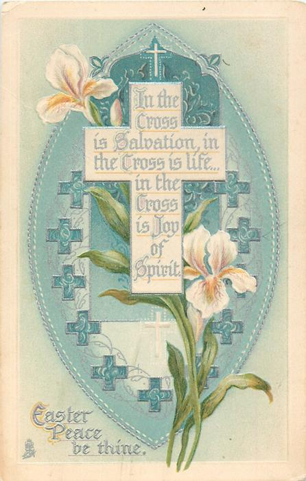EASTER PEACE BE THINE