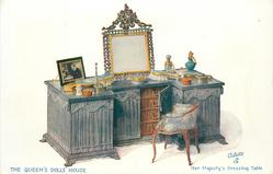 HER MAJESTY'S DRESSING TABLE