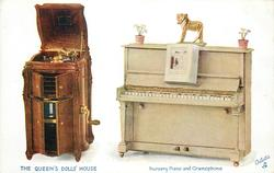 NURSERY PIANO AND GRAMOPHONE