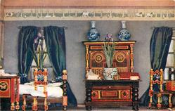 BEDROOM OF PRINCESS IRIS