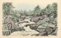 WATERFALL, GLEN MORISTON