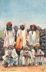 GROUP OF WAZIRIS