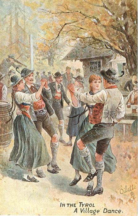 A VILLAGE DANCE