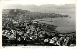CARDWELL BAY AND GOUROCK FROM GREENOCK