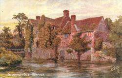 GEDDING HALL, SUFFOLK