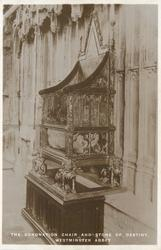 THE CORONATION CHAIR AND STONE OF DESTINY