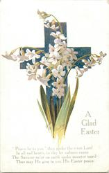 A GLAD EASTER  white single hyacinths