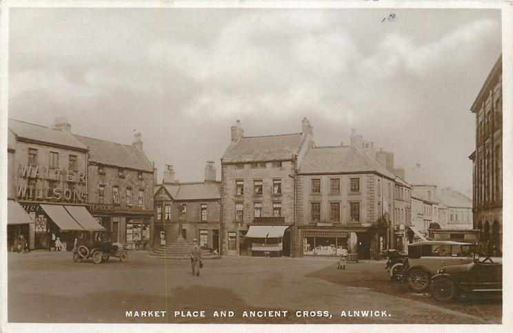 MARKET PLACE AND ANCIENT CROSS