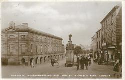BONDGATE, NORTHUMBERLAND HALL AND ST. MICHAEL'S PANT