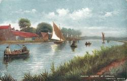 FISHING CONTEST AT HORNING