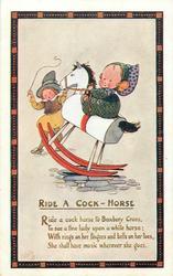 RIDE A COCK-HORSE  verse