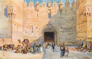 THE DAMASCUS GATE (BABEL AMOND)