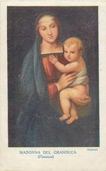 MADONNA DEL GRANDUCA (FLORENCE)