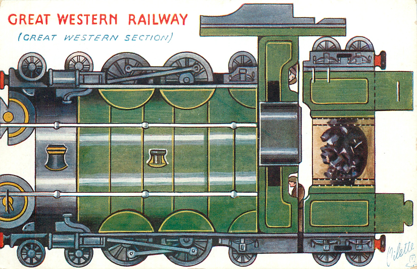 GREAT WESTERN RAILWAY (GREAT WESTERN SECTION)