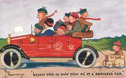 """""""LADDIE THIS IS WHY THEY CA' IT A 'SOCIABLE' CAR"""""""