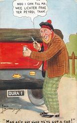 """""""MAN AH'M GEY GLAD YE'VE GOT A CAR!"""""""