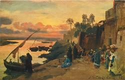 AN EVENING ON THE BANKS OF THE NILE