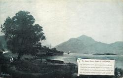 THE BONNIE BONNIE BANKS OF LOCH LOMOND, verse