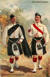 SERGEANT AND BANDSMAN