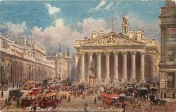 THE BANK OF ENGLAND & ROYAL EXCHANGE