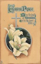 EASTER PEACE  Easter lilies