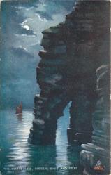 THE GIANT'S LEG, BRESSAY, SHETLAND ISLE
